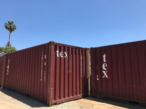 Shipping container cargo container storage storage shed 20foot shipping container 20' shipping container 20' container transport shipping container m for Sale in Carlsbad, CA