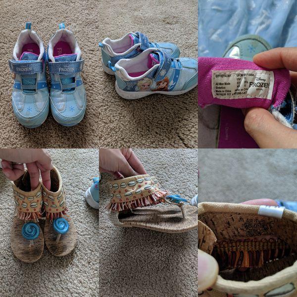 Princess/frozen Disney clothes and shoes