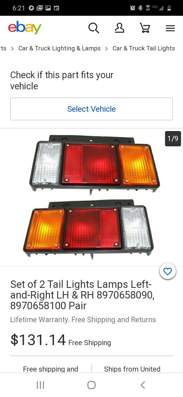 Rv/Trailer/Flatbed Tail-Lights
