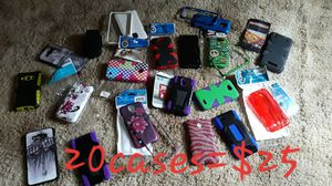 Assorted Cell cases 20 for 25$ for Sale in Williamsport, PA