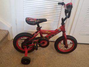 Kids Lighting McQueen Bike W/ Training Wheels for Sale in Orlando, FL