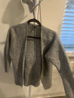 Grey cardigan women Small for Sale in Austin, TX