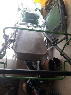 Lawn boy mower. Gas and battery like new for Sale in Plant City, FL