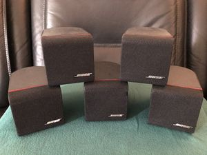 Bose Acoustimass Double Cube Speakers w ONKYO receiver for Sale in Los Angeles, CA