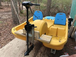 Pedal Boat Electric Motor Conversion Water Ready for Sale in Richmond, VA