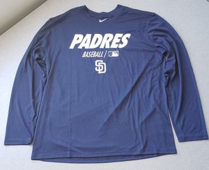 San Diego Padres Men's Shirt Dri-Fit Size XL for Sale in San Diego, CA