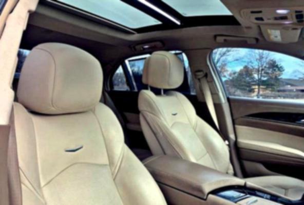 2O13 Cadillac CTS 2.0 Turbo Floor Mats - Front