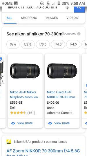 Nikon for Sale in San Bernardino, CA