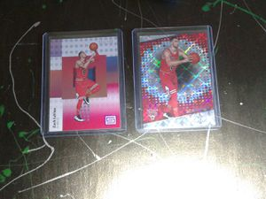 Zach LaVine 2 card mini lot for Sale in Austin, TX