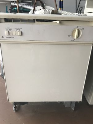 GE cream color dishwasher for Sale in Boynton Beach, FL