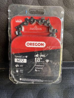 Oregon 18 in. SpeedCut Saw Chain for Sale in Redlands, CA