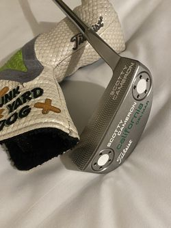 Scotty Cameron Custom 2012 California Delmar Putter With SCCS Headcover for Sale in Las Vegas,  NV