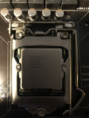 i7, asus P7P55D-E pro, ram, water cooler for Sale in Lilburn, GA