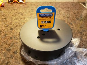 Spyder 600113 Rapid Core Eject Hole Saw, 6.625-Inch for Sale in Orland Park, IL
