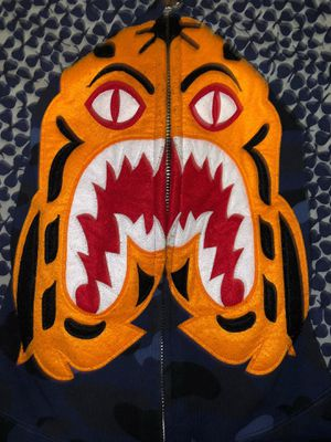 BAPE Color Camo Tiger Full ZIP Hoodie Size: XL for Sale in The Bronx, NY