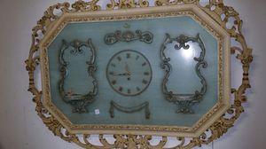 Antique French Wall Clock for Sale in Malden, MA
