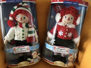 Raggedy Ann and Andy Christmas Dolls for Sale in Gainesville, FL