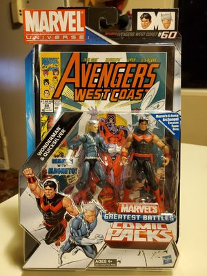 New Avengers West Coast Marvel's Greatest Battles Comic Packs. for Sale in Alhambra, CA