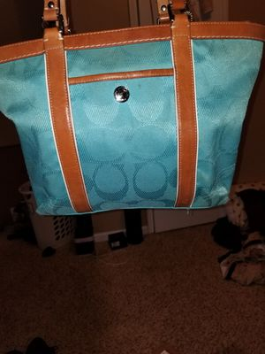 Coach canvas/leather bag for Sale in Lithonia, GA