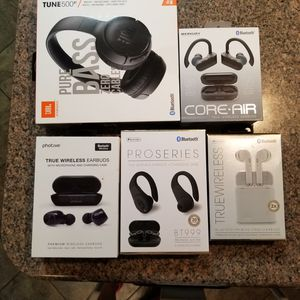 Bluetooth, Headphones, same factory as Apple, Android for Sale in St. Louis, MO