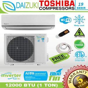 Daizuki 12000 BTU Air Conditioner Mini Split 19 SEER INVERTER AC Ductless Only Cold 220V for Sale in Naples, FL