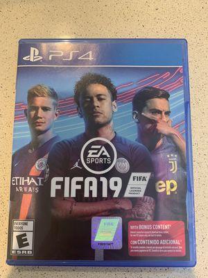 FIFA19 PS4 for Sale in Randolph, MA