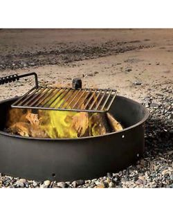 """24"""" Steel Fire Ring w/ Grate Grill for Sale in Los Angeles,  CA"""