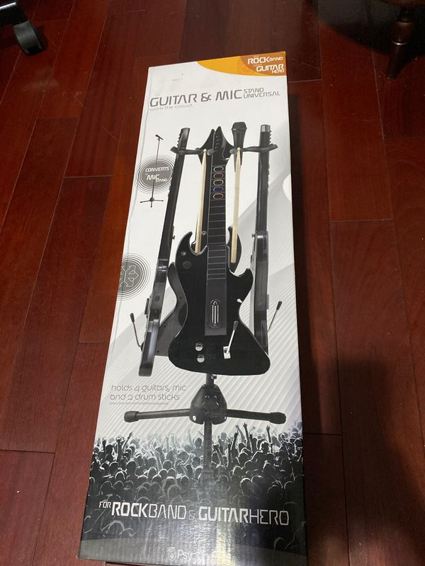 Universal Guitar and Mic Stand