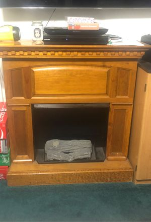 Wooden fire place for Sale in Santa Ana, CA