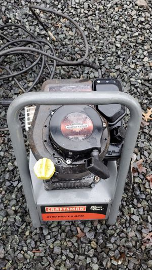 Craftsman Clean and Carry Pressure Washer - 2150 PSI / 1.9 GPM 4.0 HP for Sale in Princeton, NJ