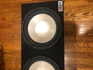 12 infinity speakers for Sale in Barrington, IL