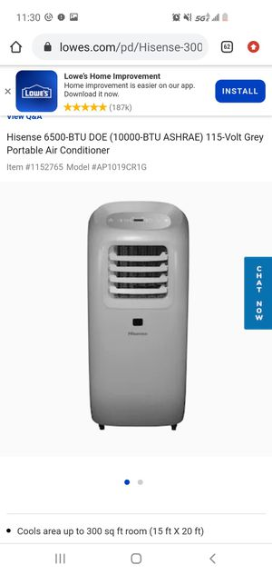 Portable AC unit like new for Sale in Tempe, AZ