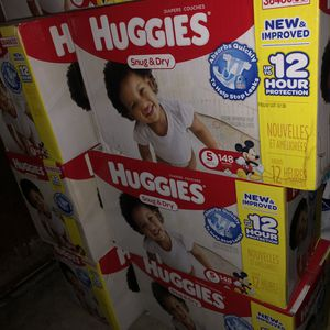 Size 5 Huggies Snug and Dry for Sale in Spring Valley, CA