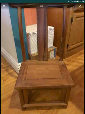 Chinese wooden baby chair for Sale in Lakeside, CA