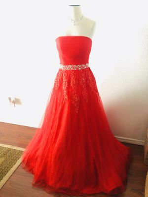 Bright Red Prom Dress for Sale in Gresham, OR
