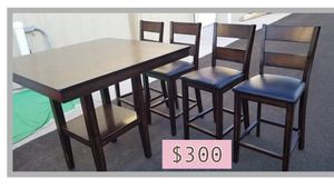 Wood Kitchen & Dining Table. for Sale in San Juan, TX