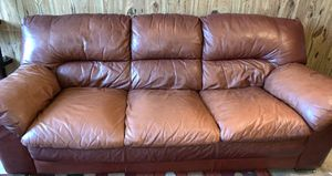 3Brown Leather Sofas for Sale in Orlando, FL