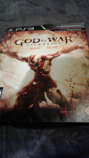 God of war Ascension (PS3) for Sale in Culver City, CA