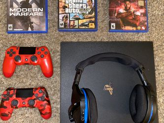 PS4 Pro Bundle for Sale in Beale Air Force Base,  CA
