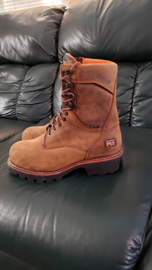 Timberland pro steel toe work boots size 10.5 for Sale in Modesto, CA