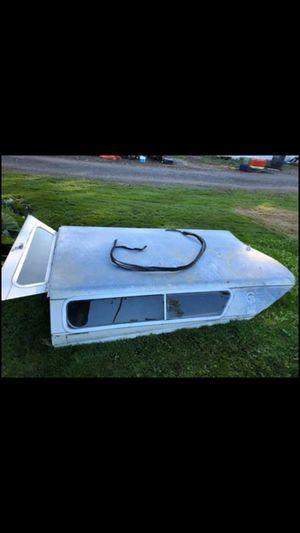 El Camino or Ranchero Galvanized Camper Shell for Sale in Ferndale, WA