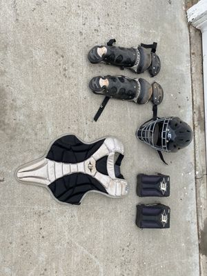 Youth size catcher's gear for Sale in Riverside, CA