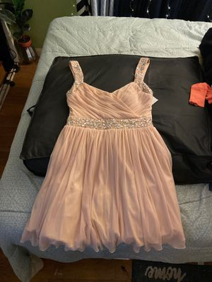 Pink pastel prom dress size 11/12 (XL) for Sale in Los Angeles, CA
