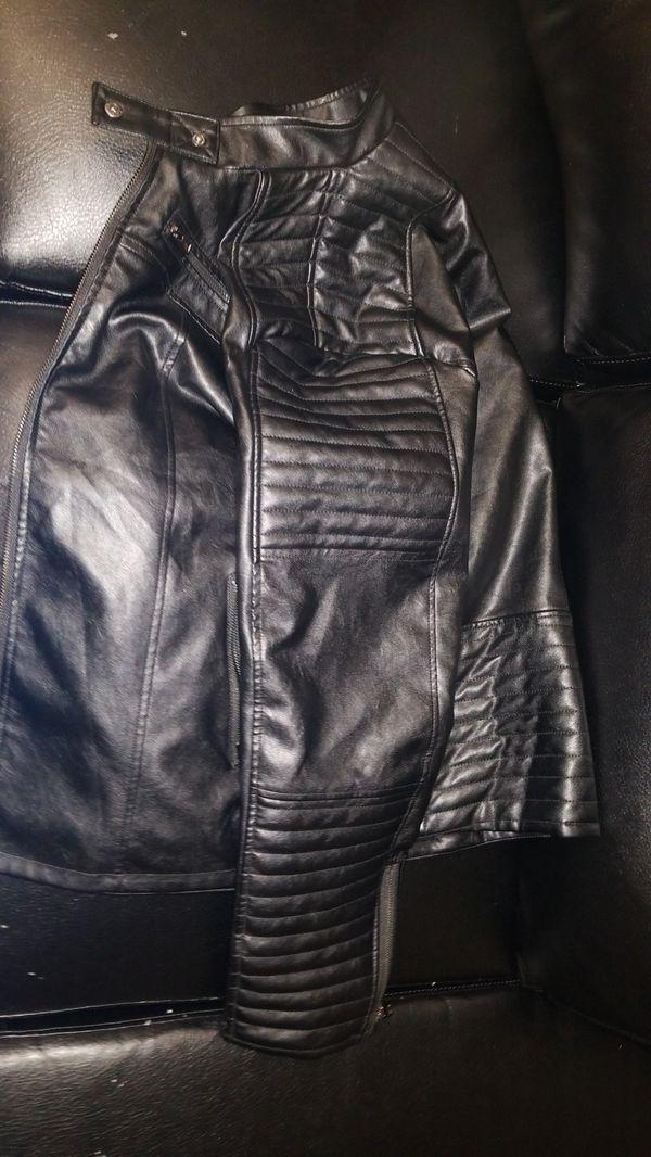 Coofandy leather jacket