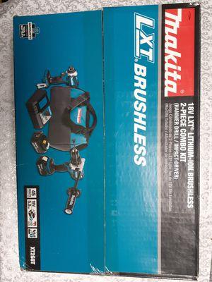 Makita 18V LXT Brushless 5Ah×2 Combo 2-Tool Kit ~NEW~ for Sale in Kent, WA