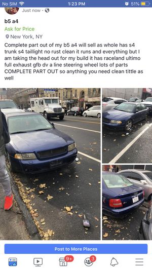 Audi A4 b5 complete part out for Sale in Bronx, NY