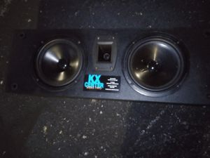 Kx center subwoofer/ horn tweeter for home theater. for Sale in Lexington, KY