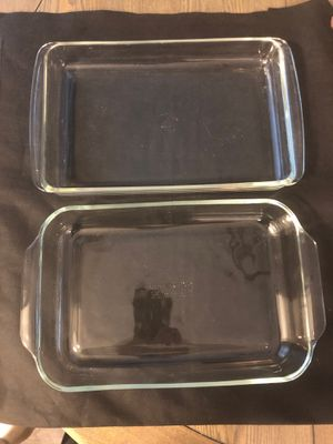 "Pyrex glassware approximately 9"" x 13"" for Sale in NJ, US"