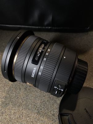 SIGMA 10-20mm F/3.5 Lens for Sale in Lake View Terrace, CA