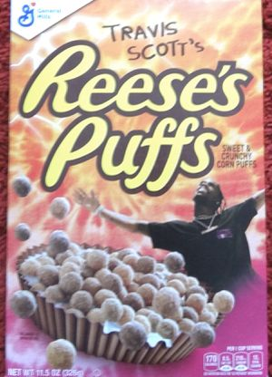 Rare Travis Scott Reese's puff cereal special edition for Sale in Thornton, CO